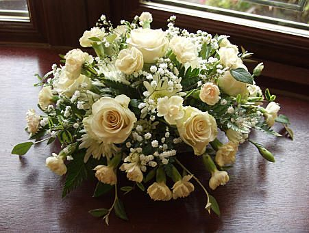 A posy table arrangement