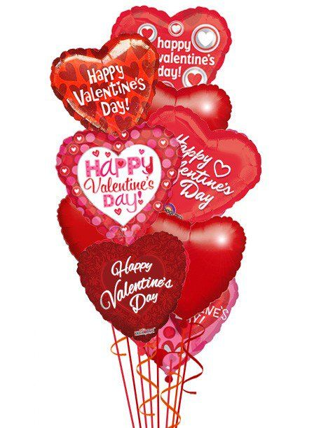 Valentines Balloon Bouquet